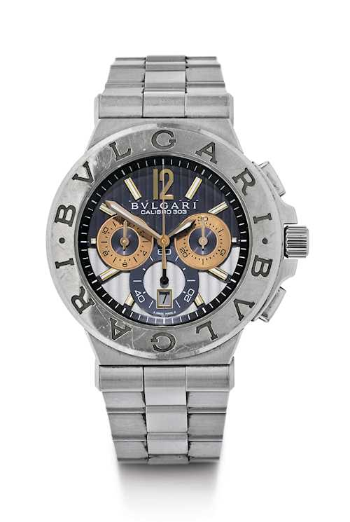 "Bulgari ""Calibro 303"" Chronograph, 2009."