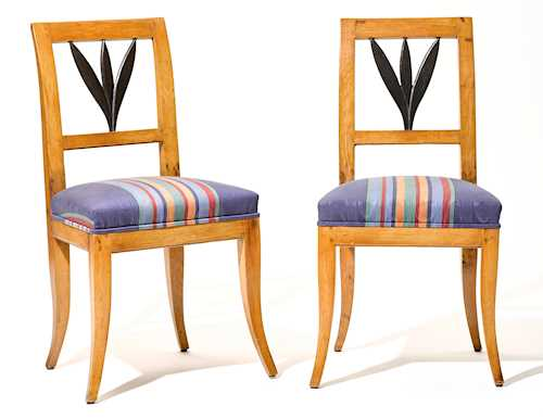 PAIR OF CHAIRS,