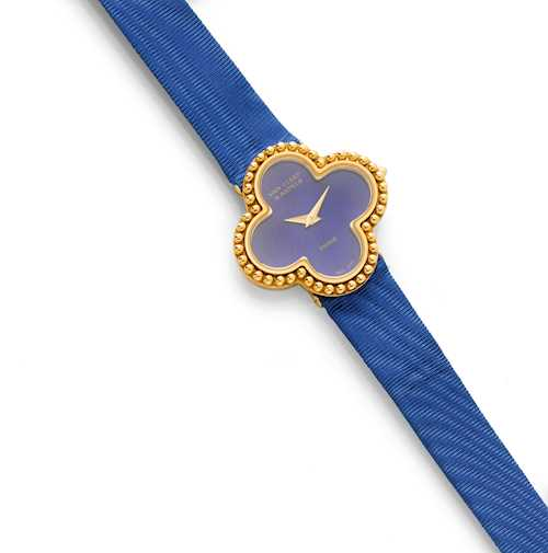 LADY'S WRISTWATCH, BY VAN CLEEF & ARPELS.