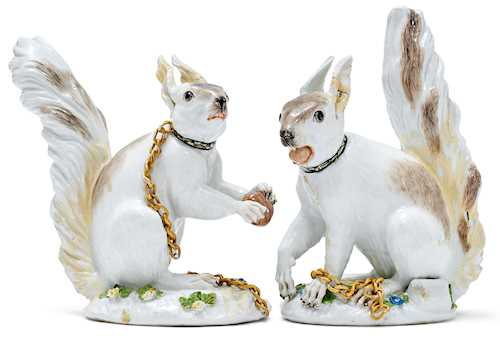 PAIR OF SQUIRRELS,