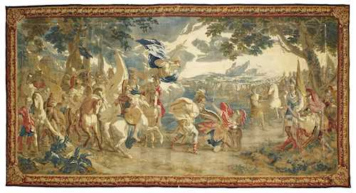 TAPESTRY FROM A SERIES ON THE HISTORY OF TELEMACHUS
