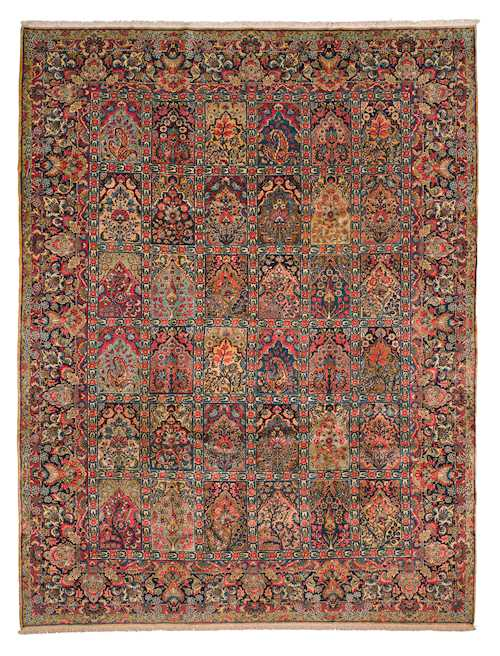 KERMAN GARDEN CARPET old.