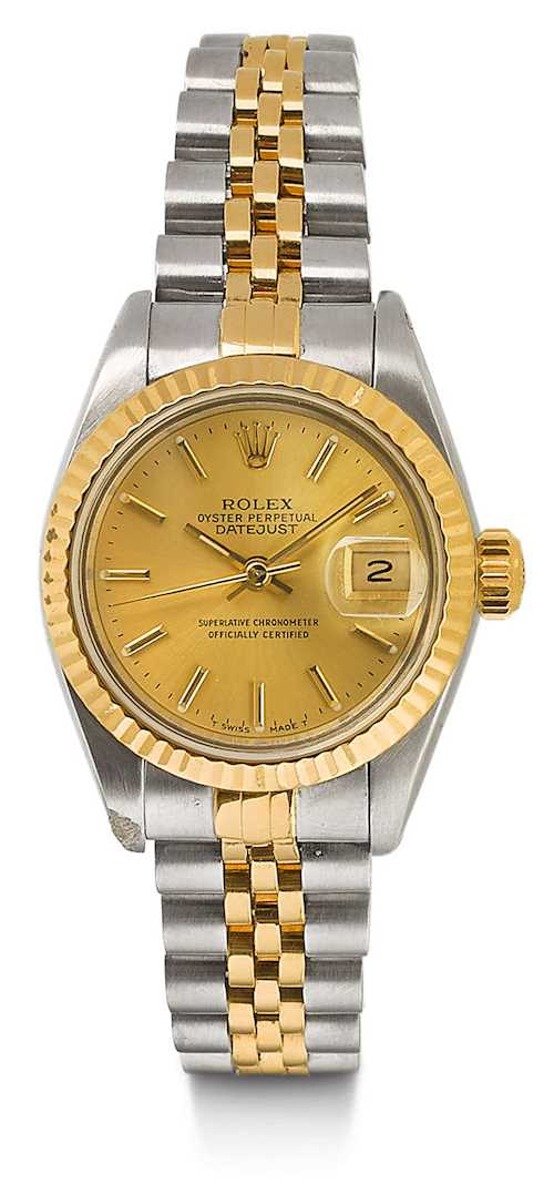 Rolex, classic Oyster Datejust Lady's watch, 1993.