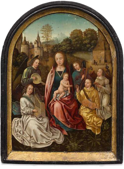 Workshop of MASTER OF THE MORRISON TRIPTYCH
