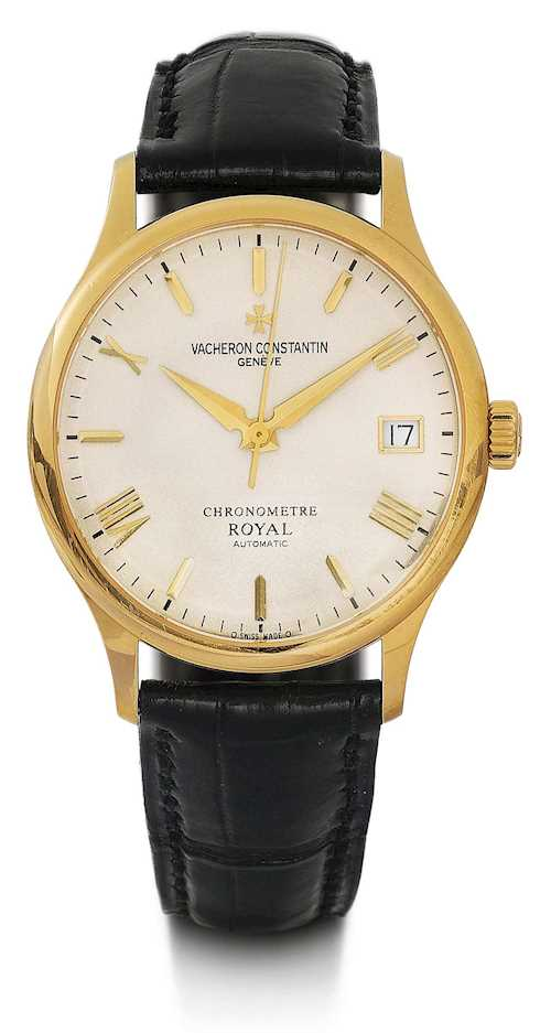 Vacheron & Constantin, classic Chronometre Royal, 2002.