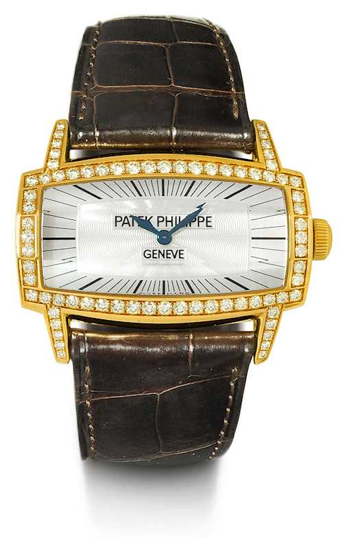 Patek Philippe, rare and attractive Gondolo Gemma, 2008.