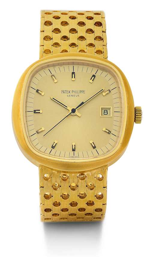 "Patek Philippe, extremely rare, large ""Beta 21"", 1972."