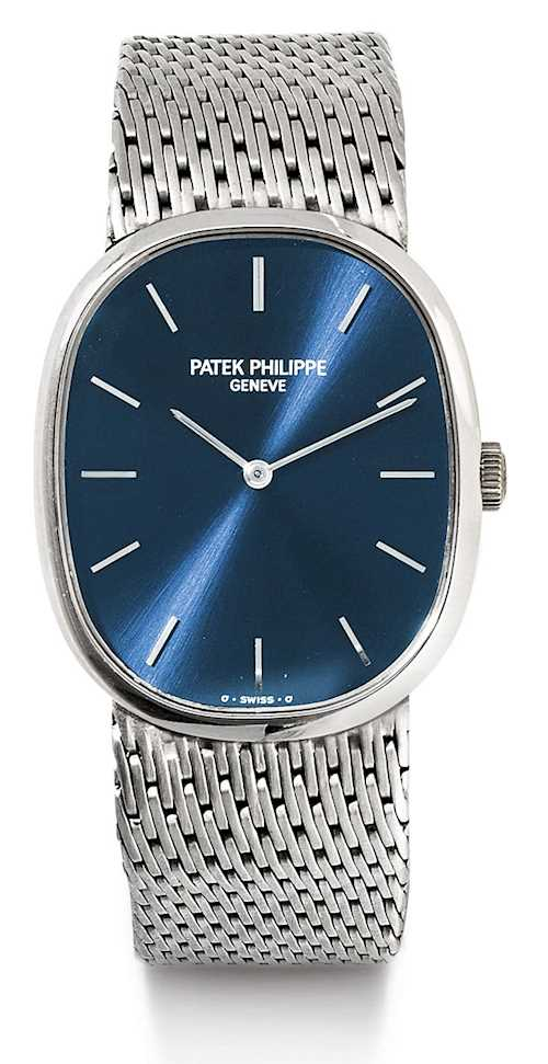 Patek Philippe, attractive Ellipse, 1981.
