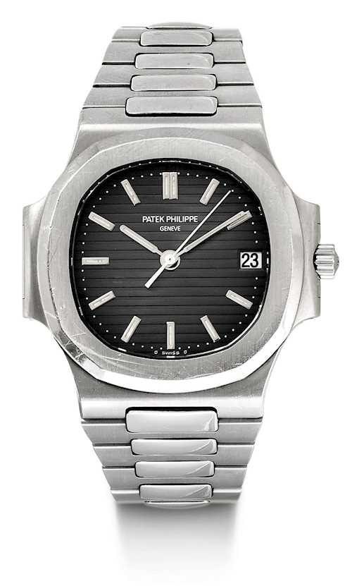 Patek Philippe, very rare and attractive Nautilus Gentleman's watch, 2003.
