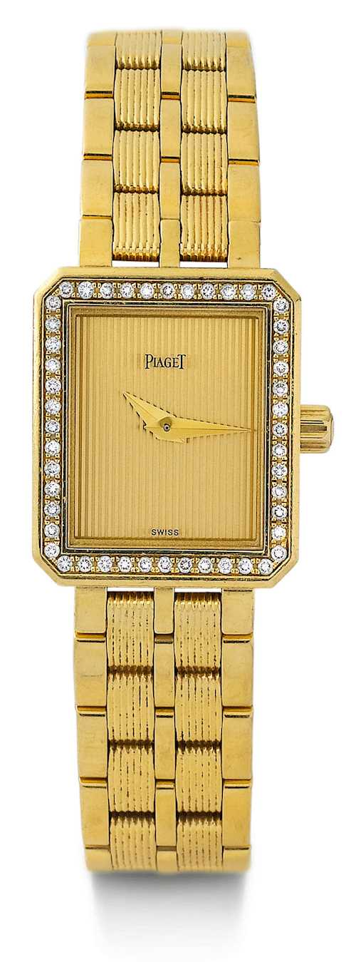Piaget, diamond Lady's wristwatch, 2005.