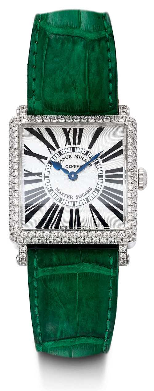 "Franck Muller, very attractive ""Master Square""."