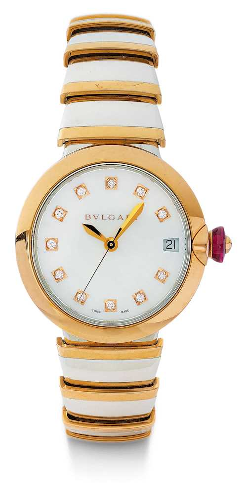 "Bulgari, rare and attractive ""Lucea"" Lady's wristwatch."