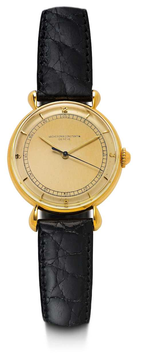 Vacheron & Constantin, attractive and rare Gentleman's watch, ca. 1947.