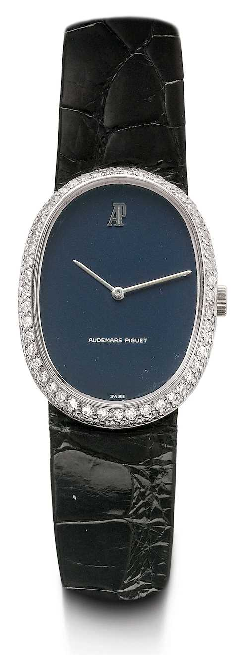 Audemars Piguet, elegant diamond Lady's wristwatch.