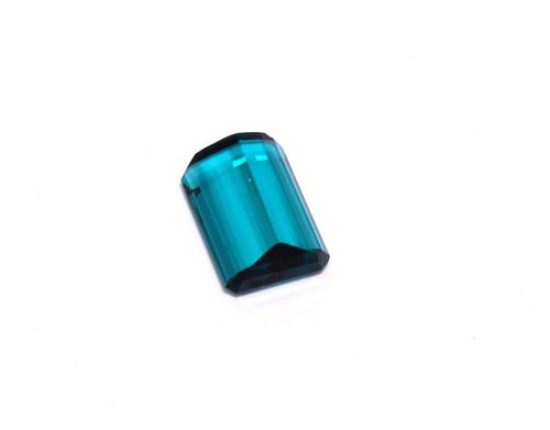 7633dda08a26b2 Octagonal blue-green tourmaline of 7.55 ct and of fine quality.
