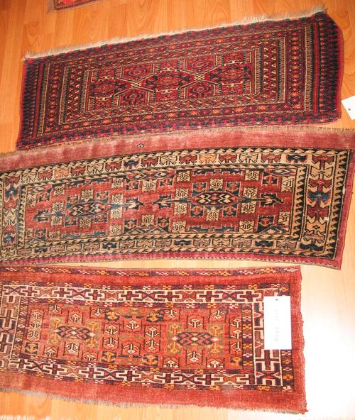 LOT OF 3 YOMUT old.Good condition, ca. 100x35 cm.