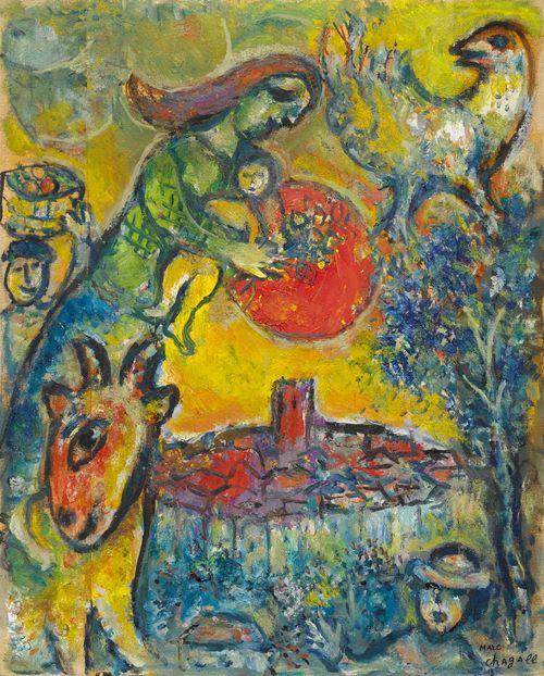 Koller auktionen ag zurich switzerland for Chagall st paul de vence