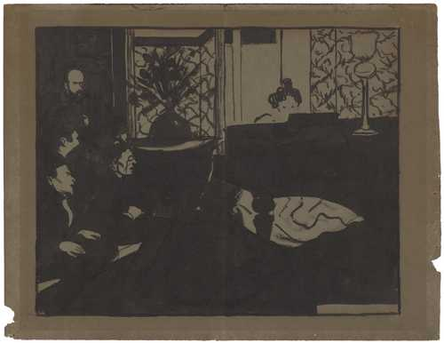 Vallotton felix lausanne 1865 1925 paris la symphonie - Vallotton architect ...