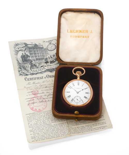 Patek Philippe pocket watch, ca. 1910.
