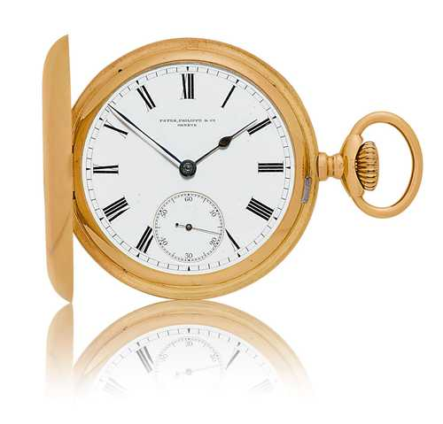 Patek Philippe savonnette pocket watch, ca. 1900.