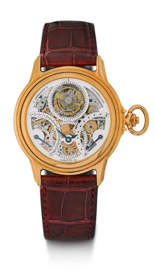 "Glashütte Original Tourbillon ""J. Assmann 3"", ca. 2002."
