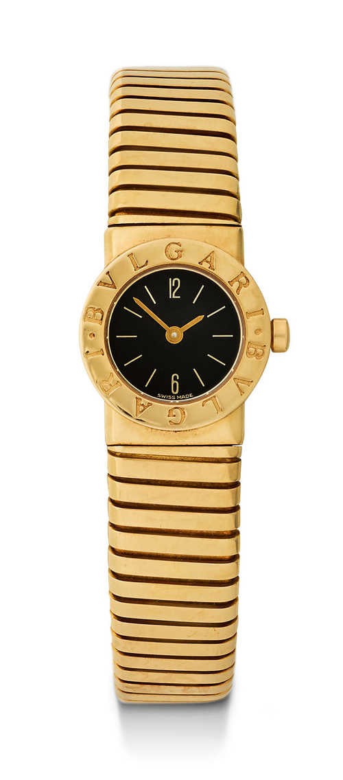 "Bulgari ""Tubogas"" Lady's Wristwatch."