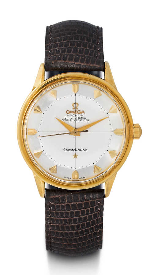 Omega Constellation Chronometer, 1950s.