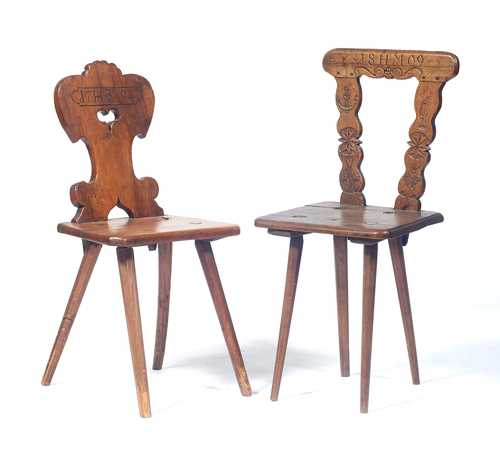 2 STABELLE CHAIRS,