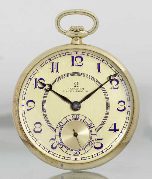 Omega Dress Watch, ca. 1900.