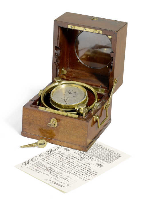 Rare, early Breguet 2-day Marine Chronometer, 1819 - 1847.