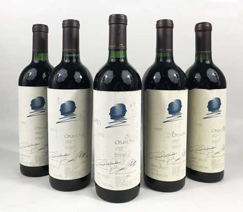 3 bts Napa Valley Opus One 1992; 2 bts Napa Valley Opus One 1997