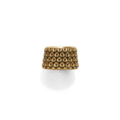 GOLD-DIAMANT-RING, GABRIELA FREI.