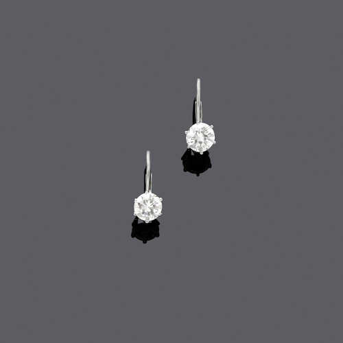 DIAMOND EARRINGS.