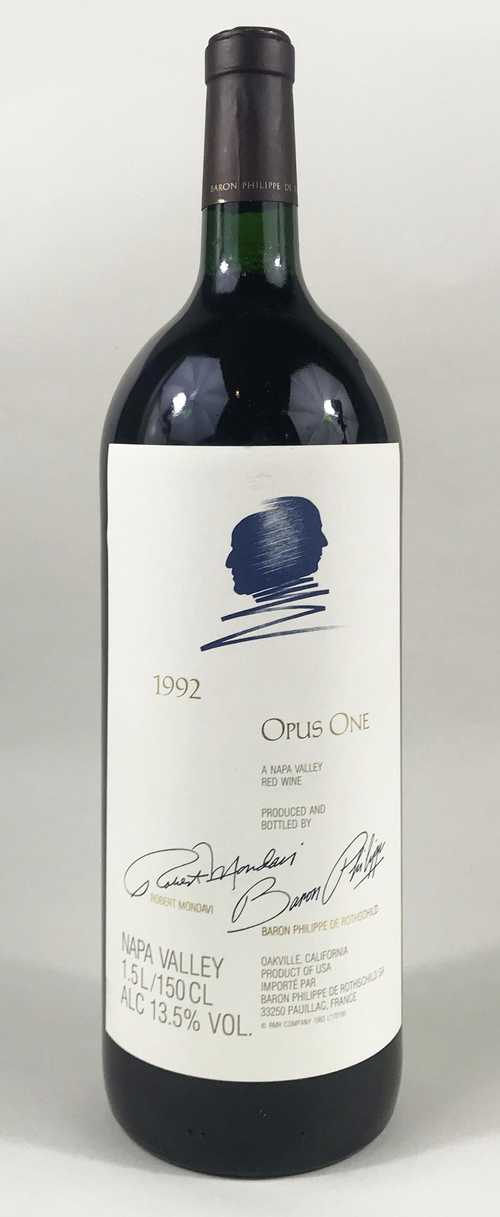 1 mg Napa Valley Opus One 1.5 L 1992