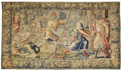 TAPESTRY, PROBABLY FROM A SERIES DEPICTING THE LIFE OF JACOB