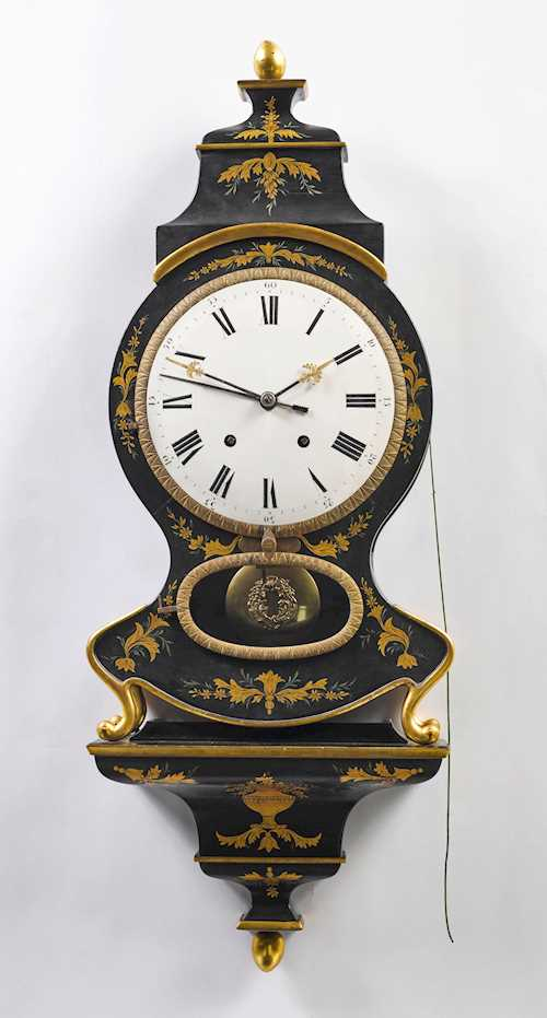PENDULUM CLOCK ON BASE WITH ALARM,