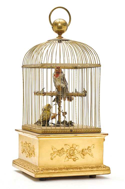 BIRD CAGE MUSIC BOX,