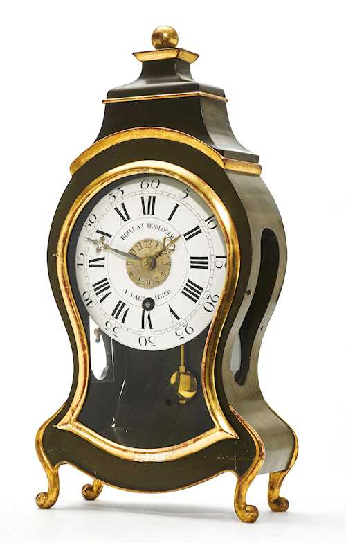 """PENDULE D'ALCOVE"" CLOCK WITH ALARM,"