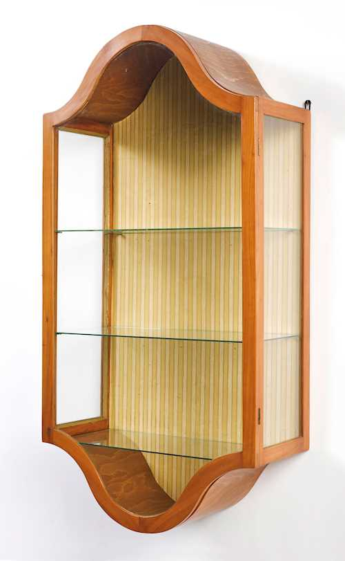 WALL-MOUNTED VITRINE CABINET,