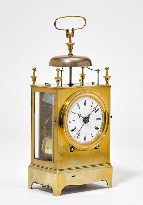 CAPUCINE CLOCK WITH ALARM,