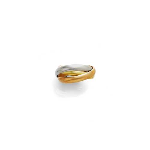 GOLD RING, BY CARTIER.