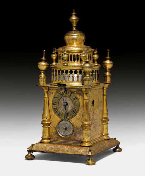 A TOWER CLOCK,