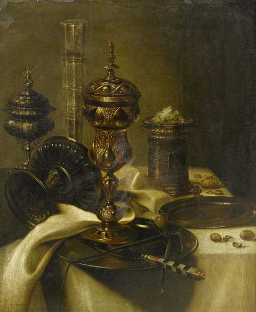 Follower from the end of the 17th century, of WILLEM CLAESZ. HEDA