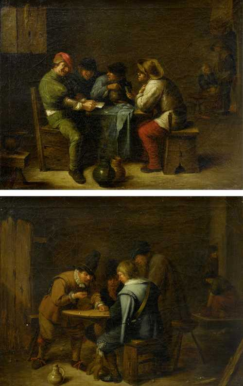 19th century follower of ADRIAEN BROUWER
