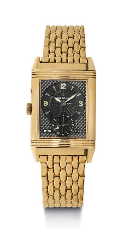 "Attraktive Jaeger le Coultre ""Reverso Night & Day"", 90er Jahre."