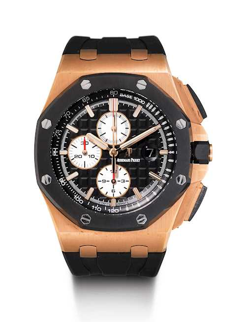 Audemars Piguet, imposante Royal Oak Offshore, 2013.