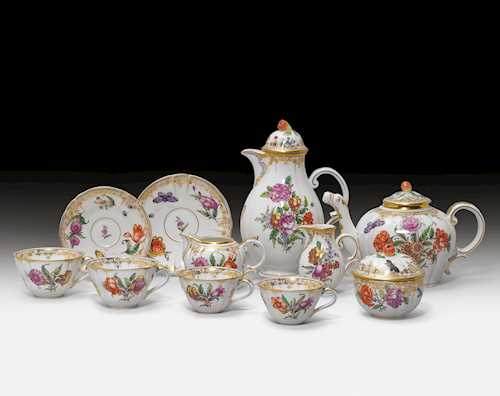 "TEA AND COFFEE SERVICE  ""CUMBERLAND"","